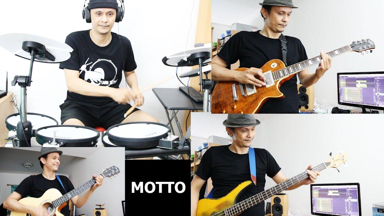 "VLOG  ซ้อมดนตรี ""ซมซาน"" Loso - Intro  Cover  | Motto Creator"
