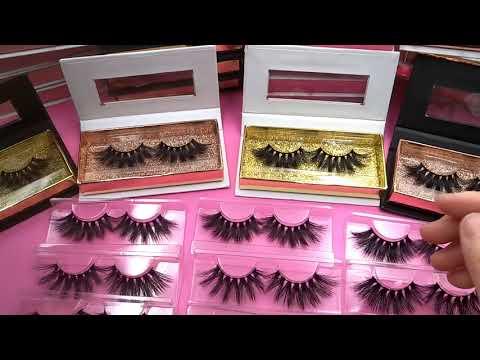 Wholesale Mink Lashes Vendors Custom Eyelash Packaging