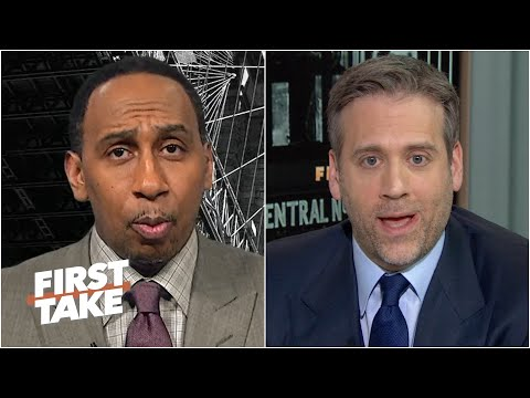 Stephen A. & Max have vastly different ideas for who the Jets should target at QB | First Take