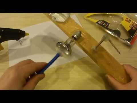 видео: Термопистолет ( клеевой пистолет). Пробуем клеить.