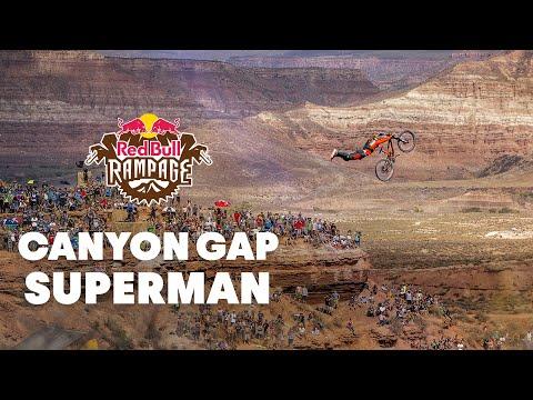 Red Bull Rampage 2015: Sam Reynolds Canyon Gap Superman: GoPro Qualifier Run
