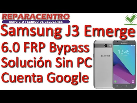 SAMSUNG J3 Emerge FRP ang google account Remove 2018 meth by