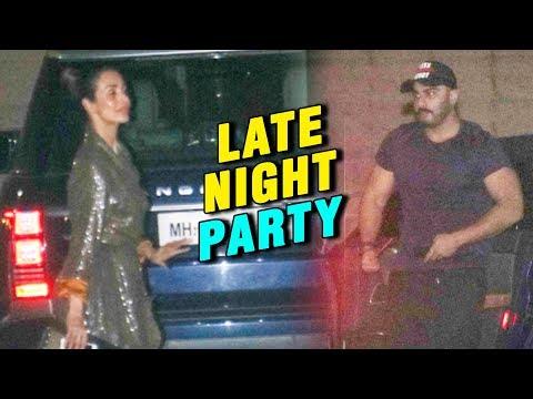 Malaika Arora And Arjun Kapoor Late Night PARTY Together