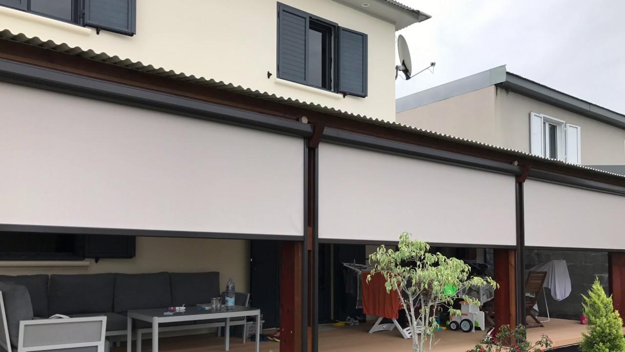 Store exterieur enrouleur vertical excellent store coffre for Store exterieur vertical castorama