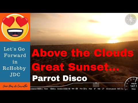 Drone Parrot Disco (Places to Visit...) - A Great African Sunset, Luanda, Angola