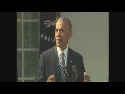 Election 2016: President Obama addresses 2016 election, Trump victory