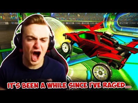 I haven't raged like this in a while... | Rocket League HIGHLIGHTS thumbnail