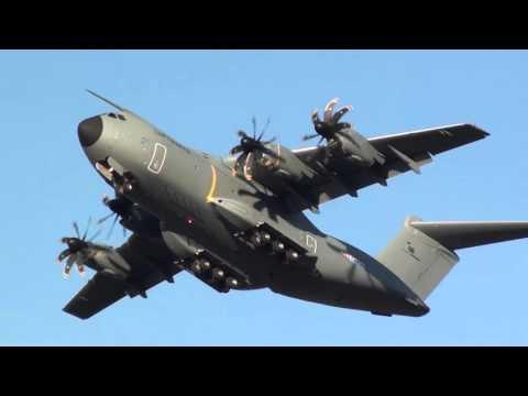 GO AROUND Luftwaffe Airbus A400M Atlas A4M030 Seville LEZL