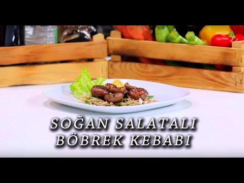 Soğan Salatalı Böbrek Kebabı Tarifi
