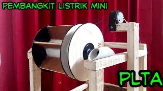Download Video cara membuat  PEMBANGKIT LISTRIK mini / PLTA mini MP3 3GP MP4