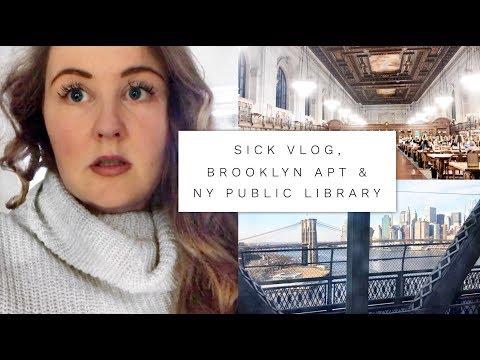 Sick Vlog, Brooklyn Apartment & New York Public Library | Shelly Coco