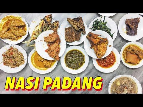 Nasi Padang in Bali, Indonesia (TRAVEL VLOG)