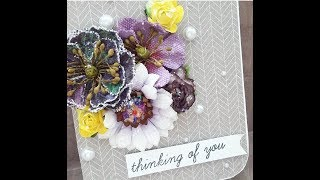 Craft| Chat With Me | Prima Pastel | Pop Up Card | Tcc