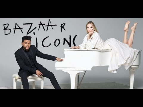 #BAZAARicons con The Weeknd, Karlie Kloss, Courtney Love...