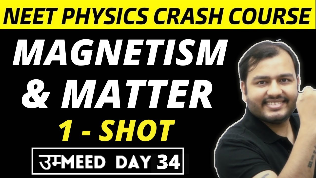 Download MAGNETISM AND MATTER in One Shot - All Concepts & PYQs   NEET Physics Crash Course