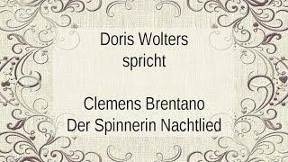 """Clemens Brentano """"Der Spinnerin Nachtlied"""" II"""