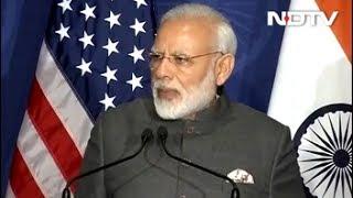 PM Modi Praises External Affairs Minister Sushma Swaraj During US Trip thumbnail