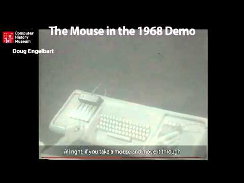 Doug Engelbart mouse demonstration (from CHM Revolution)