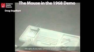 Doug Engelbart mouse demonstration (from CHM Revolution)