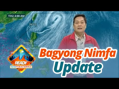 BT: Bagyong Nimfa weather update as of 12:17 p.m. (September 18, 2019)