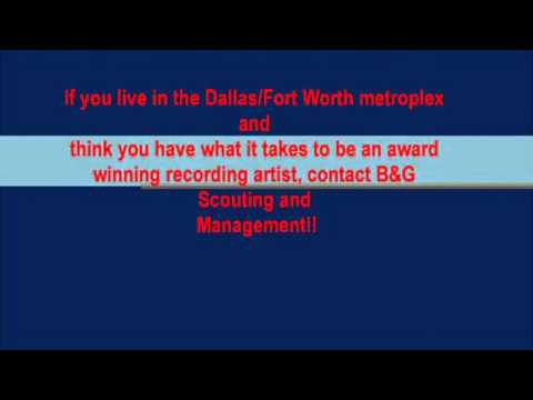 Singing Auditions in Dallas/Fort Worth area. Talent SCouts/Managers Seeking the Best!
