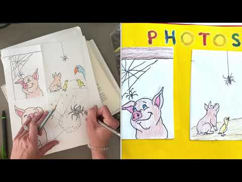 how-to-make-a-scrapbook-book-report--charlottes-web