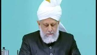 Friday Sermon: 17th April 2009 - Part 2 (Urdu)