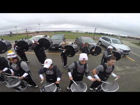 The CMU 2015-16 Drumline