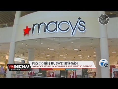 Macy's closing 100 stores nationwide