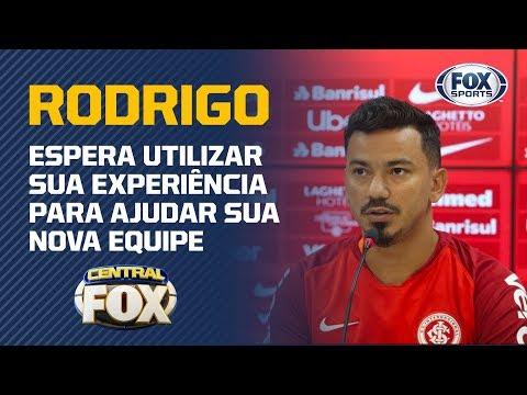Rodrigo Lindoso é apresentado como reforço do Inter