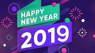 Happy New Year 2019 New Year Wishes Greetings Animated Whatsapp Status Renu