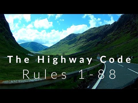 HIGHWAY CODE EXPLAINED RULES 1-88