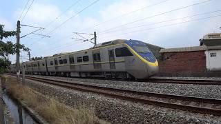 8721次迴送列車通過大林鎮中興路地下道