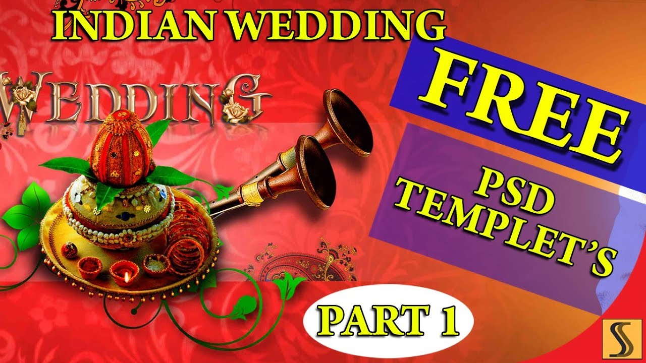 Part 1 Free Psd Indian Wedding 12x36 Templates Fully Editable For