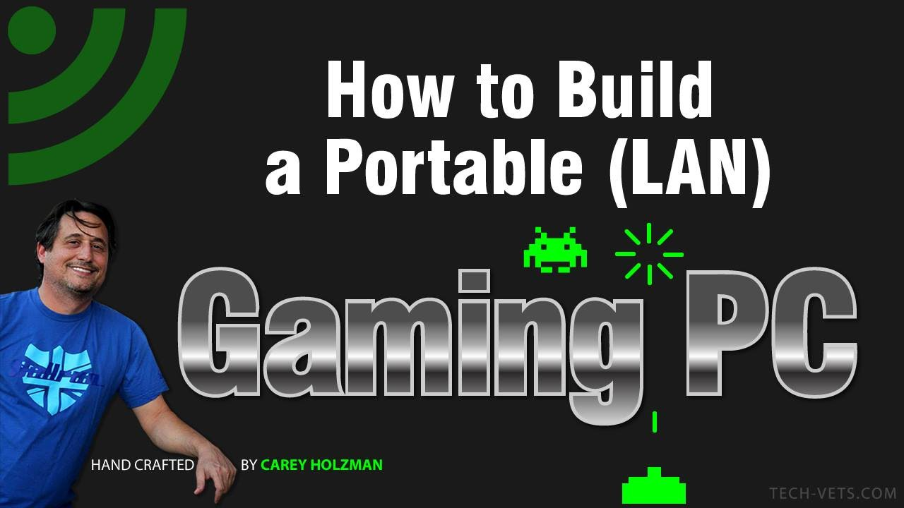 How to Build a Portable (LAN) Gaming PC - Complete! - YouTube