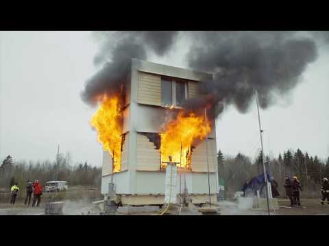 A CLT fire resistance test of the Estonian Academy of Security Sciences (ENG)