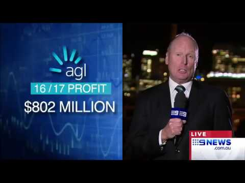 9News: AGL Announce Soaring Results