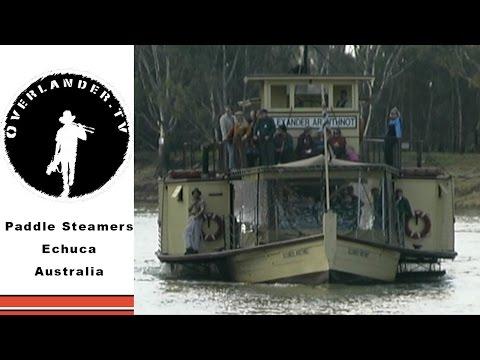 The Paddle Steamer Capital of the World! - Echuca, Australia HD