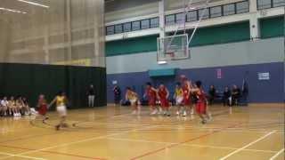 學界籃球11-12: 培僑小學vs蘇浙小學