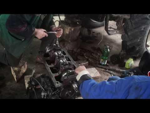 TRACTOR BELARUS 820 -APA IN BAIE-A DE ULEI & BLOC FISURAT-HD