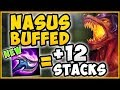 WTF! 500 STACKS IN 20 MINUTES MADE HIM RAGE QUIT! NASUS BUFFED SEASON 9 GAMEPLAY! League of Legends