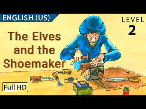 """The Elves and the Shoemaker: Learn English (US) with subtitles - Story for Children """"BookBox.com"""""""