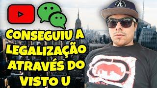 BRASILEIROS CONSEGUIRAM A LEGALIZAÇÃO ATRAVÉS DO VISTO U NOS ESTADOS UNIDOS