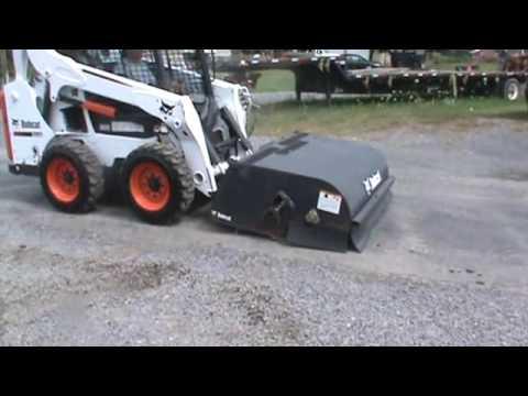 "Bobcat 60"" Skid Steer Power Broom Sweeper Broom For Sale Mark Supply Co"