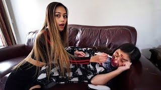 MY LITTLE SISTER HAD NO IDEA! (prank)