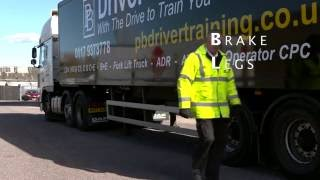 Coupling and Uncoupling exercise for DVSA test with PB Driver Training
