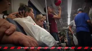 Выступление Витаса в вагоне московского метро