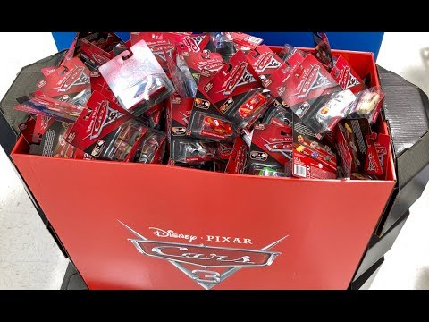 Disney Cars Toy Hunt - GIANT BOX of Disney Cars - Walmart Toy Hunting 🔴 Live by Family Toy Review