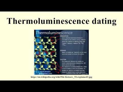optically stimulated luminescence exposure dating