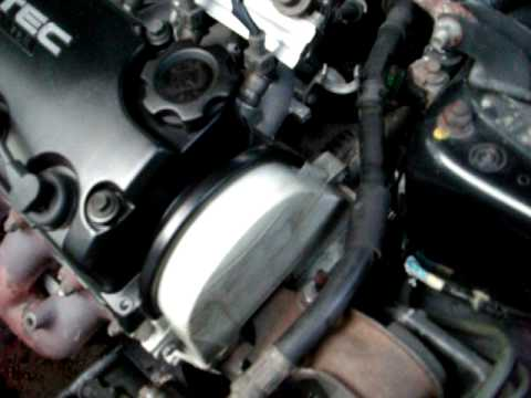 How to Replace a timing belt and water pump - part 1 - YouTube
